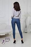 "Жіноча блузка в смужку ""Felicity""| Батал, фото 7"