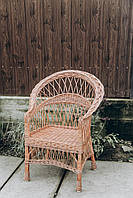Кресло из натуральной лозы | кресло плетеное для дачи | кресло плетеное
