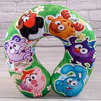 Детская подушка для путешествий Смешарики
