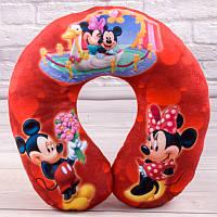 Детская подушка для путешествий Микки Маус