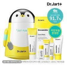 Dr.Jart+ Набор средств ухода за кожей Ceramidin Cream Play Set Пингвин Джарт крем 50 мл Корея