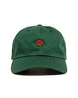 ✔️ Кепка The Hundreds молодёжная летняя из хлопка с логотипом зелёная мужская женская бейсболка роуз