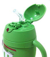 Бутылка для воды детская небьющаяся Stenson R84902 Green, фото 4
