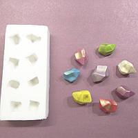 Молд Драгоценные камни, для изомальта и шоколада 3d