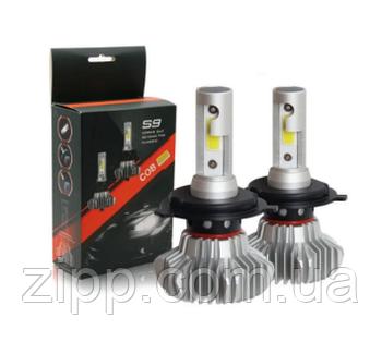 Светодиодные LED лампы S9 H7 для автомобиля   автолампы S9 60W COB 12000lm