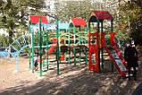 """Ігровий комплекс """"Бастіон"""" чотири башти для дитячих ігрових майданчиків KidSport, фото 2"""