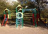 """Ігровий комплекс """"Бастіон"""" чотири башти для дитячих ігрових майданчиків KidSport, фото 3"""