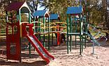 """Ігровий комплекс """"Бастіон"""" чотири башти для дитячих ігрових майданчиків KidSport, фото 4"""