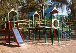 """Ігровий комплекс """"Бастіон"""" чотири башти для дитячих ігрових майданчиків KidSport, фото 5"""