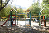 """Ігровий комплекс """"Бастіон"""" чотири башти для дитячих ігрових майданчиків KidSport, фото 6"""