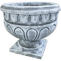 Вазон садовый для цветов «Афина» бетонный