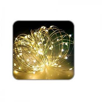 Гирлянда LED светодиодная наружная 10м Stenson R82856-1 Yellow