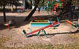 Лавка без спинки для дитячих ігрових майданчиків KidSport, фото 3