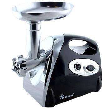 Мясорубка соковыжималка электрическая Domotec MS2019 2400W Black