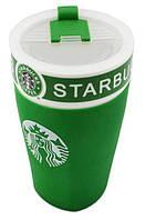Чашка керамическая кружка Starbucks PY 023 Green