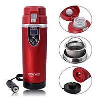 Термос электрочайник термопот Easyway FCC-350LC Red, фото 2