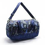 Модная женская спортивная сумка для спортзала, фитнеса, тренировок с рисунками пончики, фото 4