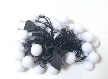 Гирлянда новогодняя светодиодная MHZ LED 40P T4 Multi шарики