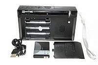 Радио приемник MP3 плеер USB Golon RX 6622 Silver, фото 3