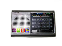 Радио приемник MP3 плеер USB Golon RX 6622 Silver, фото 8