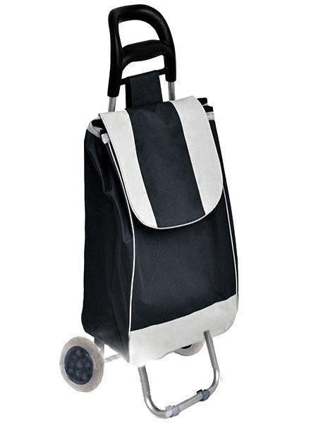 Тачка сумка на колесах кравчучка 95см Stenson E00317 Black