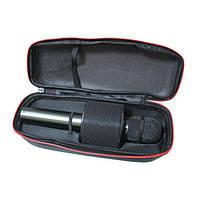 Микрофон караоке беспроводной bluetooth в чехле Wster V8 Black , фото 3