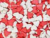 Посыпки кондитерские — Сердца красные-белые
