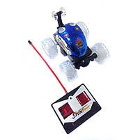 Машинка на радиоуправлении перевертыш Stunt 999G-1A Blue, фото 2