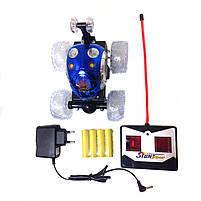 Машинка на радиоуправлении перевертыш Stunt 999G-1A Blue, фото 4
