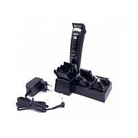 Машинка для стрижки 5 в 1 Gemei GM 801 Black, фото 2