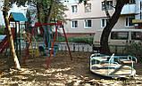 Ігровий комплекс висота гірки 1,2 м для дитячих ігрових майданчиків KidSport, фото 3
