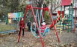 Ігровий комплекс висота гірки 1,2 м для дитячих ігрових майданчиків KidSport, фото 4