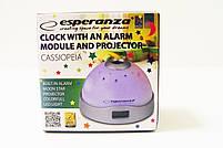 Часы с проектором Esperanza Cassiopeia EHC001 Grey, фото 3