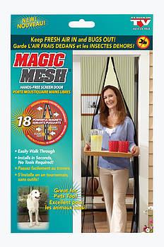 Москитная сетка на магнитах Magic Mesh Спартак