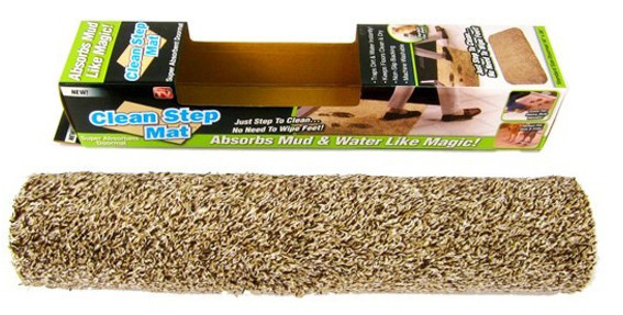 Коврик придверный Clean Step Mat впитывающий