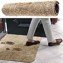 Коврик придверный Clean Step Mat впитывающий, фото 3