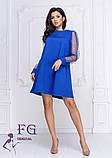 """Платье с прозрачными рукавами """"Муза""""  Распродажа модели, фото 5"""