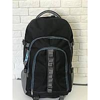 Рюкзак туристический походный VA T-02-2 65л, черный с cерым