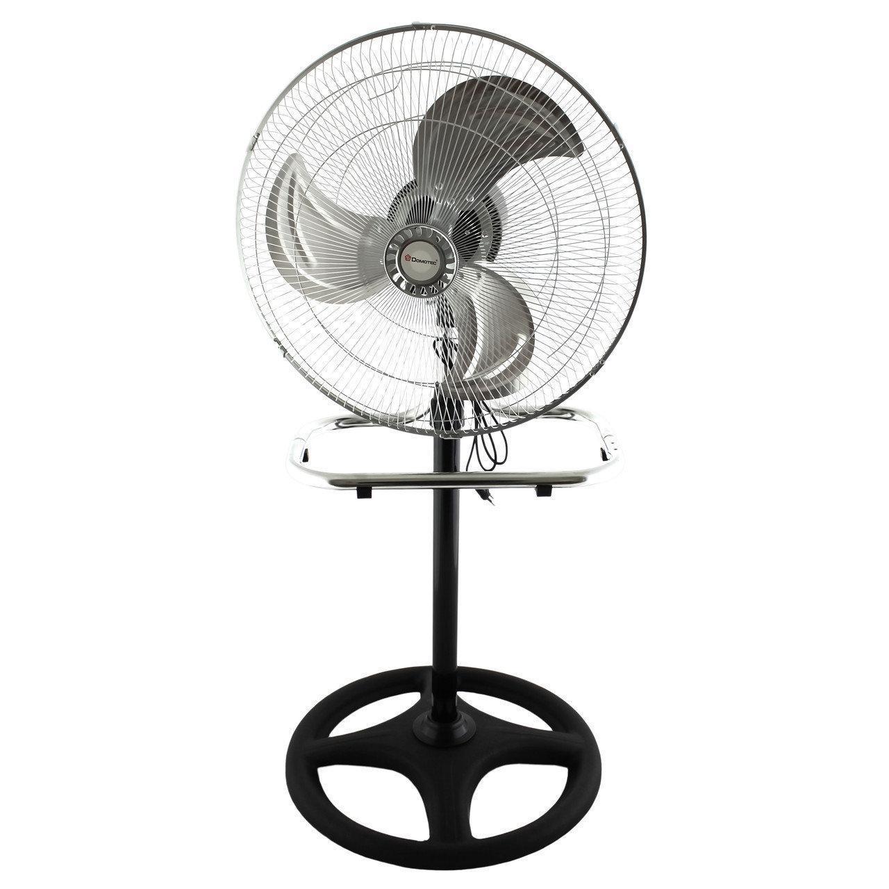 Напольный вентилятор Domotec MS-1622, металлический