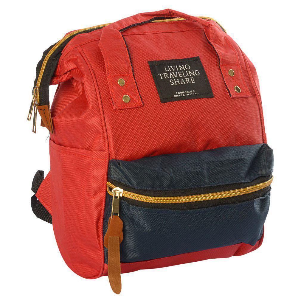 Рюкзак Teenage Backpacks MK 2877 сумка, красно-синяя