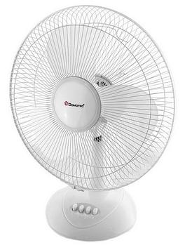 Настольный вентилятор Domotec МS-1626 Белый