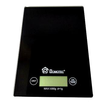 Электронные кухонные весы Domotec MS-912 до 5 кг, черные