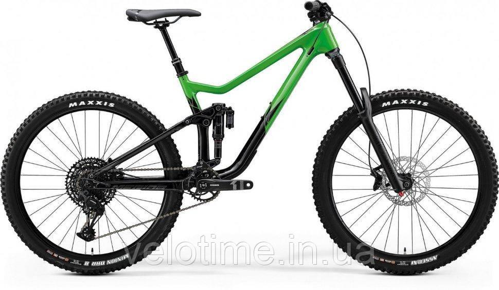 Merida One-Sixty 3000 27,5 2020 (M, зеленый-черный)