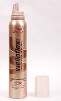 Мусс для волос Wellaflex Wella Блеск и Фиксация, суперсильная фиксация № 5 GIL  //05-82 N