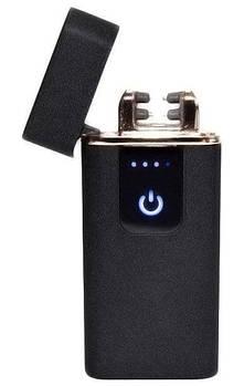 Зажигалка электроимпульсная USB 750 5402  Черная