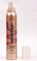 Мусс для волос Wellaflex Wella. Суперсильная Фиксация, для надежной фиксации до 24 часов. № 5  GIL /05-82 N