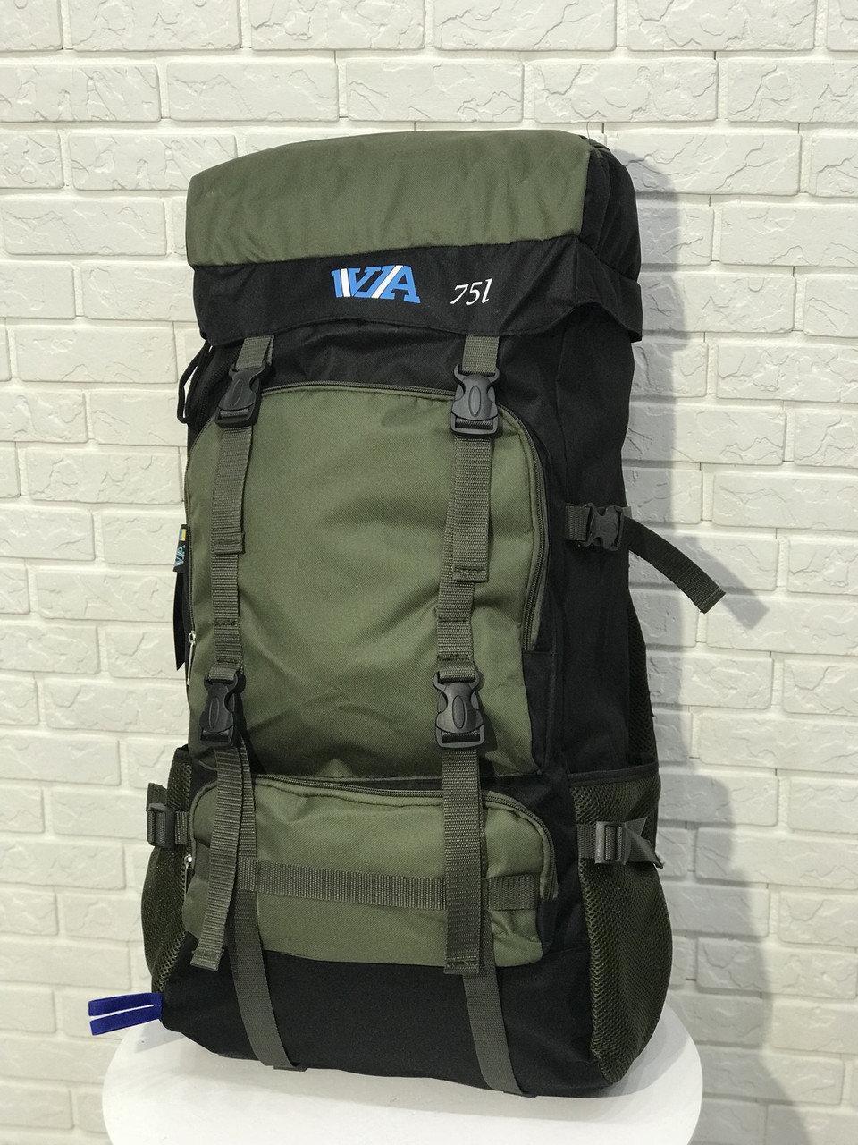 Рюкзак походный VA T-07-8 75л, хаки