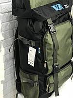 Рюкзак походный VA T-07-8 75л, хаки, фото 2