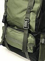 Рюкзак походный VA T-07-8 75л, хаки, фото 4