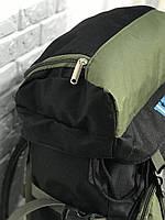 Рюкзак походный VA T-07-8 75л, хаки, фото 5